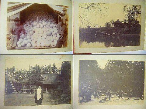 明治 大正初『写真 宮城 仙台 大阪 横浜 旅行 アルバム』