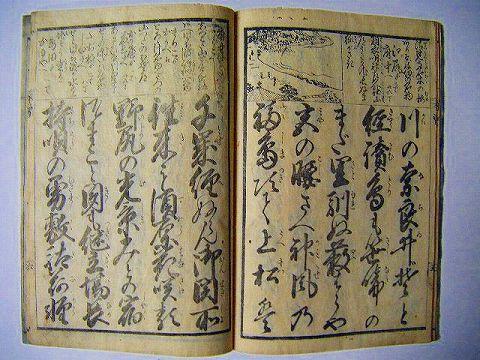 江戸 和本 絵図 旅 名所『木曽路 往来』東里山人