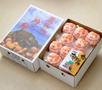 花御所柿の里 2kg L 11玉 特選