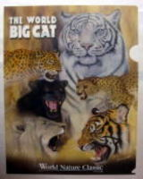 THE WORLD BIG CAT A4 クリアファイル