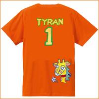 チーム背番号Tシャツ