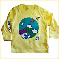 富士山ロングTシャツ
