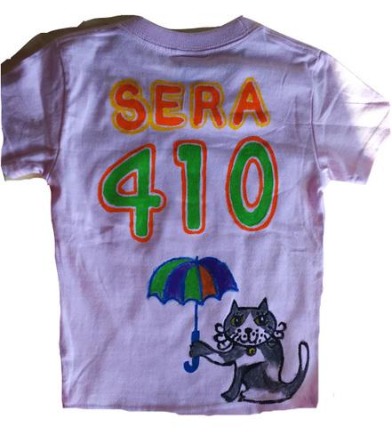 傘猫背番号 tシャツ オリジナル お好きな背番号が入る!