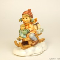 Girl on Luge 10.5cm - フンメル