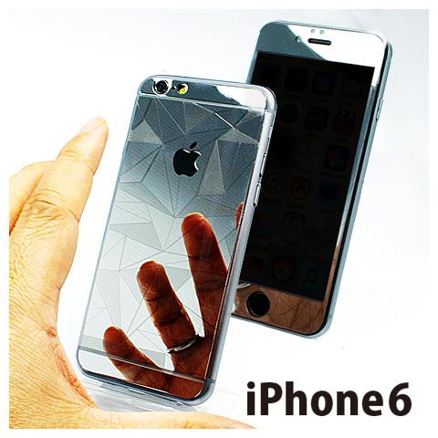 iPhone6用両面保護強化デザインガラスパネル