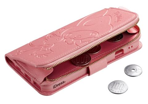 iPhone 6S/6用「マイメロディ」コインケース付