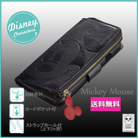 iPhone 6S/6用  Disney iCoin.DIARY COVER 【Mickey Mouse】【送料無料】