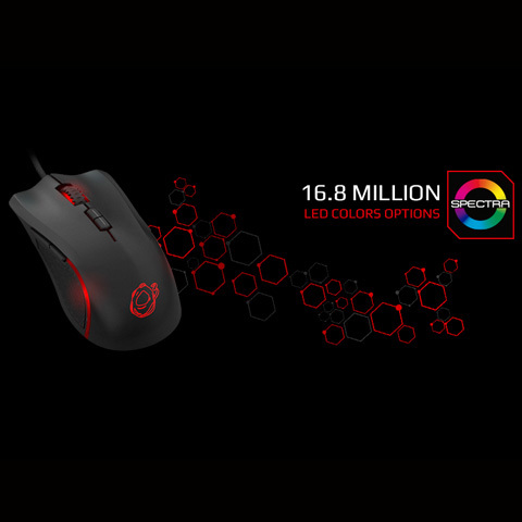 OZONE ARGON GAMING MOUSE (RGB)