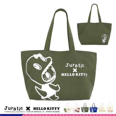 Juratic x HelloKittyトートバック