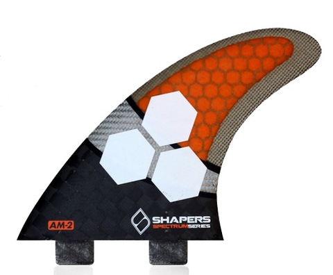 SHAPERS FIN  AM2 SPECTRUM  TRI  FCS用