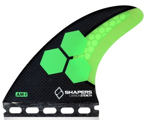 SHAPERS FIN  AM1  CARBON STELTH  5FIN  FUTURE用