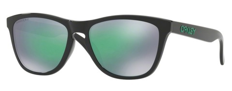 OAKLEY  Frogskins  Polished Black/Prizm Jade Iridium