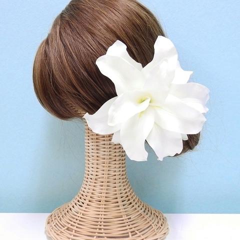 *【6点セット】髪飾り ローズリリー *