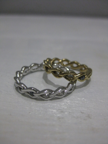 【SALE40%OFF★JAM HOME MADE 】TEARS ETERNITY RING S