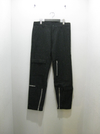 【SALE50%off★HEX ANTISTYLE】WOOL TWEED PANTS