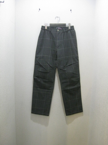 【SALE50%off★HEX ANTISTYLE】CHECK EASY PANTS