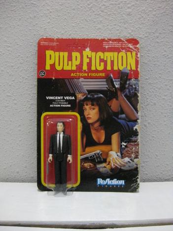 【FUNKO】ReAction - 3.75 Inch Action Figure: Pulp Fiction / Series 1 - Vincent Vega