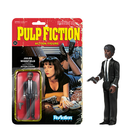 【FUNKO】ReAction - 3.75 Inch Action Figure:Pulp Fiction / Series 1 - Jules Winnifield