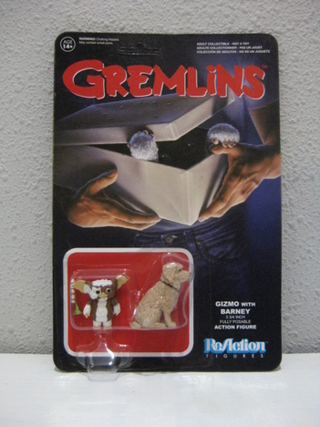 【FUNKO】ReAction - 3.75 Inch Action Figure:Gremlins / Series 1 - Gizmo & Barney