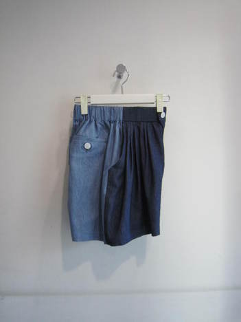 【Julien David】Ultra Soft Cotton Linen Denim Short Pant