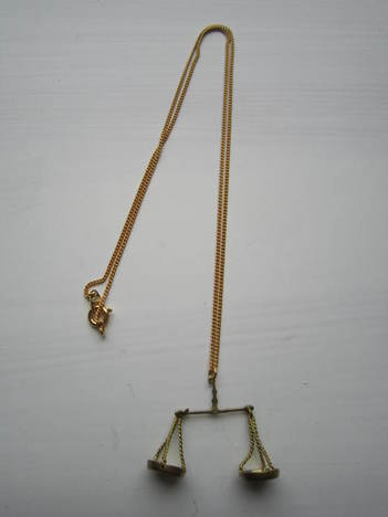 【Aquvii】Libra Necklace