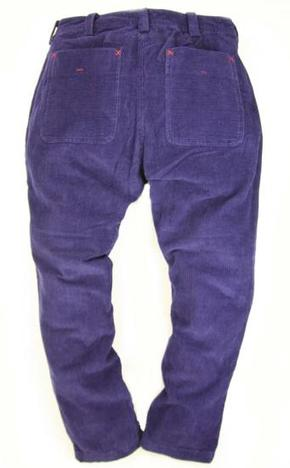 【SALE★EATS】Corduroy Patch Pants