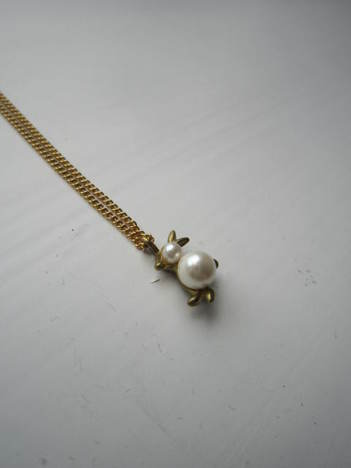 【Aquvii】Plus Pearl Necklace (rabbit)