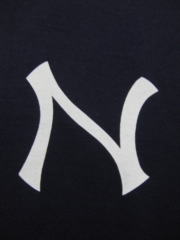 【NO TARGET ORIGINAL】N LOGO S/S SWEAT(NAVY)