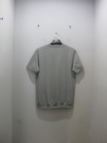 【NO TARGET ORIGINAL】N LOGO S/S SWEAT(GRAY)