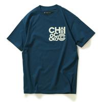 【CHARI&CO】CLUSTER LOGO TEE(HARBOR BLUE)