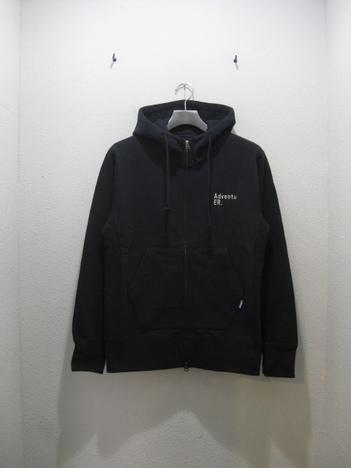 "【MAGIC NUMBER】Heavyweight Cotton Sweat Zip-Up Hoodie ""AdventuER"""