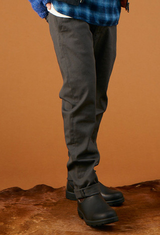 【GOWEST】WORK ON PANTS DRILL STRTCH
