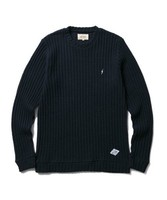 【CLUCT】CREW NECK WAFFLE KNIT SEW