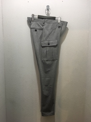 【LiSS】 STRETCH TAPERED CARGO PANTS