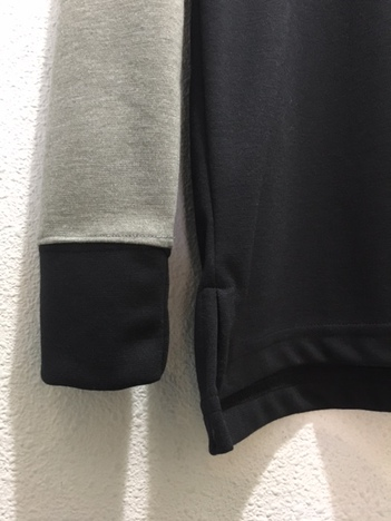 【LiSS】SWITCH CREWNECK PULLOVER