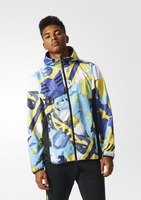 【adidas ORIGINALS】MONTAGE AOP WINDBREAKER