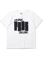 【PUNK DRUNKERS】たて四本ロゴTEE