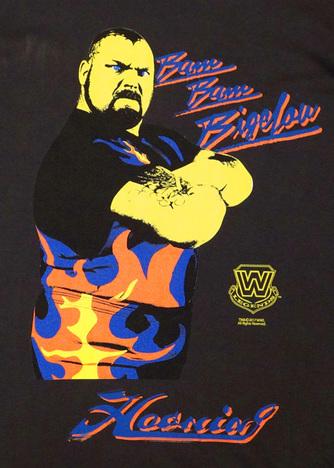 【HAOMING】WWE Bam Bam Bigelow Tshirt