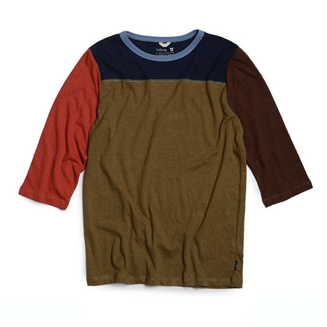 【GO HEMP】COMBI MULTI FOOTBALL TEE