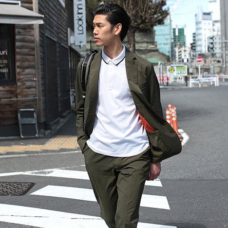 【narifuri×FRED PERRY】蓄光ポロシャツ
