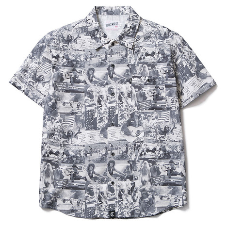 【CLUCT】WOOD STOCK S/S SHIRT