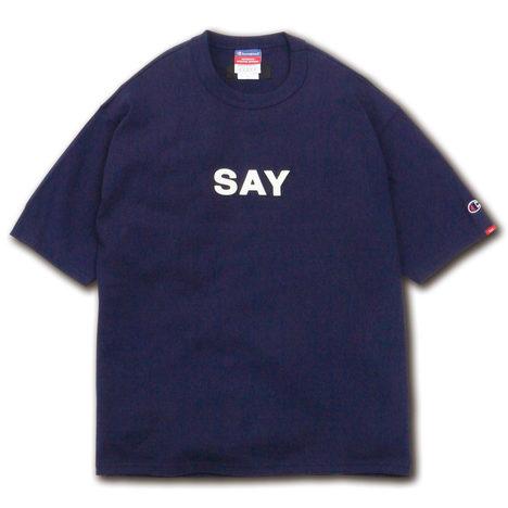 """【SAY】S/S TEE """"FELT-SAY"""""""