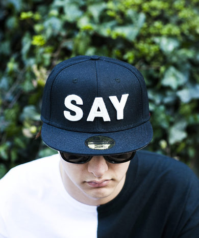 "【SAY】BASEBALL CAP ""FELT-SAY"""