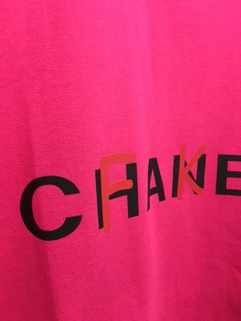 【NO TARGET ORIGINAL】FAKE CHANEL S/S TEE