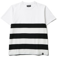 【CLUCT】MIX BORDER STRIPE TEE