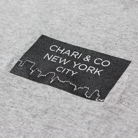 【CHARI&CO】SKYLINE GOTHAM TEE