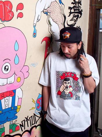 【PUNK DRUNKERS】虎ドットCAP