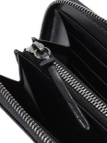 【JAM HOME MADE】BLACK DIAMOND ZIP LONG WALLET -LaVish-