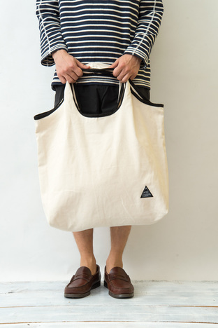 【BELLWOODMADE MFG CO】  DEFO TOTE PACKABLE TOTE BAG