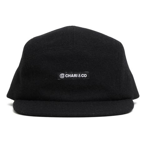【CHARI&CO】NISH LOGO MELTON 5PANEL CAP